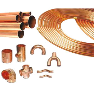 Copper tubes, coils & fittings Picture 01